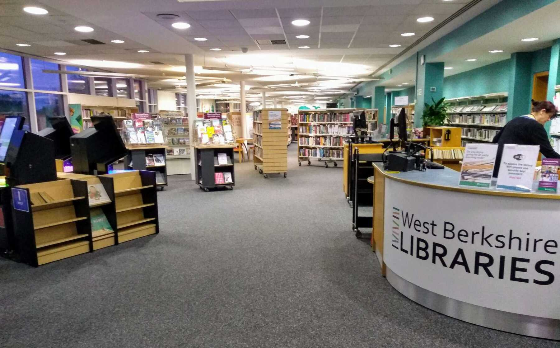Featured Image for West Berkshire Libraries - Newbury Library