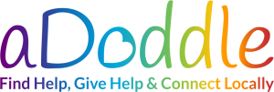 Loo for aDoddle.org - Tagline: Find Help, Give Help and Connect Locally