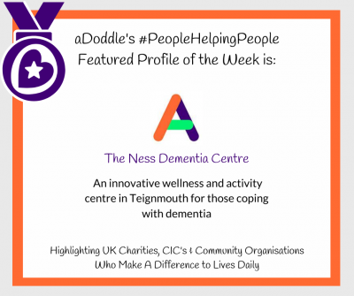 Graphic showing the logo and short descriptor of aDoddle's Featured Profile of the week. Content is in the text section.